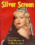 Lana Turner on the cover of Silver Screen (United States) - April 1945