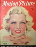 Glenda Farrell on the cover of Motion Picture (United States) - September 1934