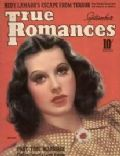 Hedy Lamarr on the cover of True Romances (United States) - September 1939