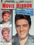 Elvis Presley on the cover of Movie Mirror (United States) - May 1959