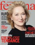 Meryl Streep on the cover of Femina (France) - February 2012