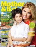 Tugba Coskun on the cover of Mother and Baby (Turkey) - June 2013