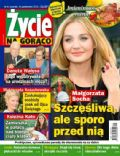 Malgorzata Socha on the cover of Zycie Na Goraco (Poland) - October 2013