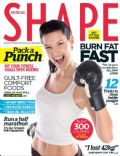 on the cover of Shape (Australia) - September 2012