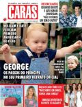 Prince George of Cambridge on the cover of Caras (Portugal) - July 2014