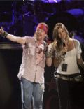 W. Axl Rose and Ellen Jabour