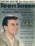 Dion DiMucci on the cover of Teen Screen (United States) - June 1962