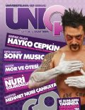 Hayko Cepkin on the cover of Uniq (Turkey) - January 2009