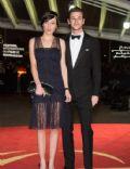 Gaspard Ulliel and Gaelle Pietri