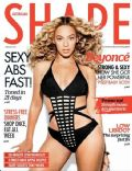 Beyoncé Knowles on the cover of Shape (Australia) - July 2013