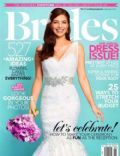 on the cover of Brides (United States) - April 2013