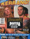 Dave Mustaine, Phil Anselmo on the cover of Kerrang (United Kingdom) - November 1992