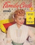Lucille Ball on the cover of Family Circle (United States) - September 1953