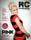 Pink on the cover of Rock Candy Magazine (United States) - December 2012