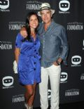 Richard Burgi and Liliana López