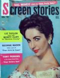 Elizabeth Taylor on the cover of Screen Stories (United States) - February 1957