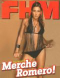 Merche Romero on the cover of Fhm (Portugal) - August 2005
