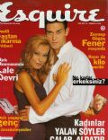 Burak Hakki on the cover of Esquire (Turkey) - December 1996