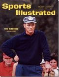 Arnold Palmer on the cover of Sports Illustrated (United States) - April 1962