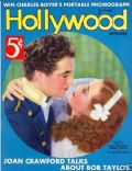 Joan Crawford, Robert Taylor on the cover of Hollywood (United States) - September 1936