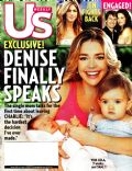 Denise Richards on the cover of Us Magazine (United States) - July 2005