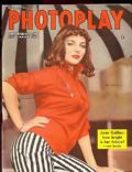 Joan Collins on the cover of Photoplay (United Kingdom) - November 1955