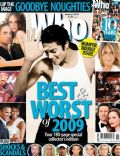 Michael Jackson on the cover of Who (Australia) - January 2010