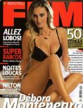 Débora Montenegro on the cover of Fhm (Portugal) - September 2007