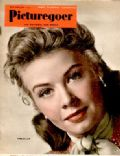 Vera-Ellen on the cover of Picturegoer (United Kingdom) - June 1951