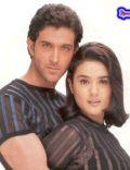 Preity Zinta and hrithik Roshan