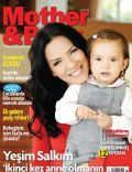 Yesim Salkim on the cover of Mother and Baby (Turkey) - November 2012