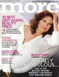 Susan Sarandon on the cover of More (United States) - October 2004
