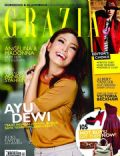 Ayu Dewi on the cover of Grazia (Indonesia) - January 2012