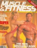 Scott Wilson, Traci Lords on the cover of Muscle Fitness (United States) - May 1989