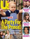 Prince George of Cambridge on the cover of Us Weekly (United States) - August 2014
