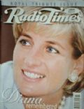 Princess Diana on the cover of Radio Times (United Kingdom) - September 1997