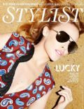 Kylie Minogue on the cover of Stylist Magazine (United Kingdom) - March 2012