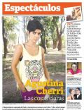 Agustina Cherri on the cover of Clarin (Argentina) - January 2014
