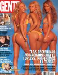 Carolina Oltra, Geraldine Neumann, Sabrina Rojas on the cover of Gente (Argentina) - November 2004