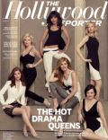 Anna Gunn, Connie Britton, Elisabeth Moss, Kate Mara, Kerry Washington, Monica Potter on the cover of The Hollywood Reporter (United States) - June 2013