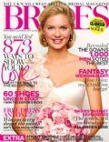 on the cover of Brides (United Kingdom) - October 2012