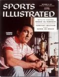 Carmen Basilio on the cover of Sports Illustrated (United States) - September 1957