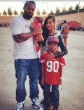 Ashanti and Darnell Dockett