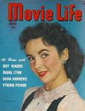 Elizabeth Taylor on the cover of Movie Life (United States) - October 1948