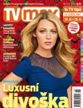 Blake Lively on the cover of TV Max (Czech Republic) - August 2012