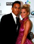 Scott Sinclair and Helen Flanagan