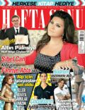 Sibel Can on the cover of Haftasonu (Turkey) - May 2014