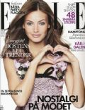 Mona Johannesson on the cover of Elle (Sweden) - August 2010