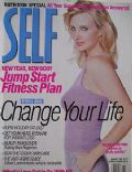 Monica Potter on the cover of Self (United States) - January 1999