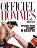 Andrés Velencoso on the cover of L Officiel Hommes (France) - June 2010